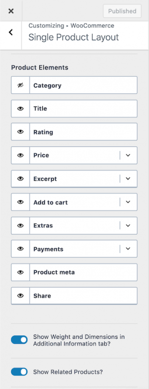 Kadence WooCommerce Single Product Layout Options