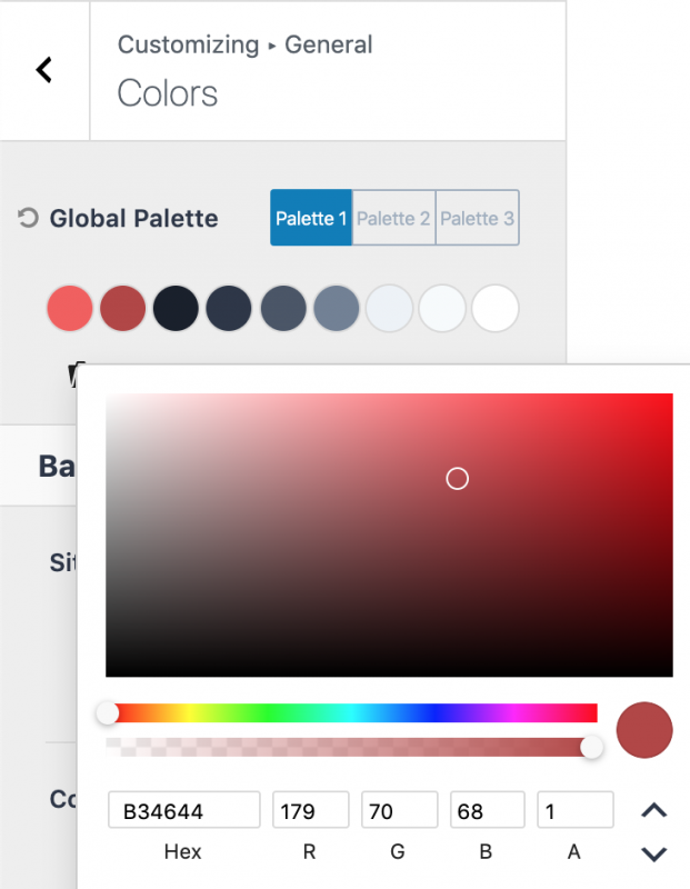 Kadence Color Palette How to Choose Accent Color 2