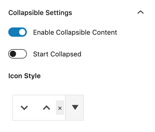 Kadence Blocks WordPress Table of Contents Collapsible Settings