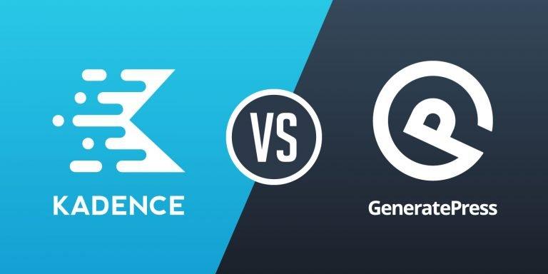 Kadence vs GeneratePress – Which WordPress Theme is Better?