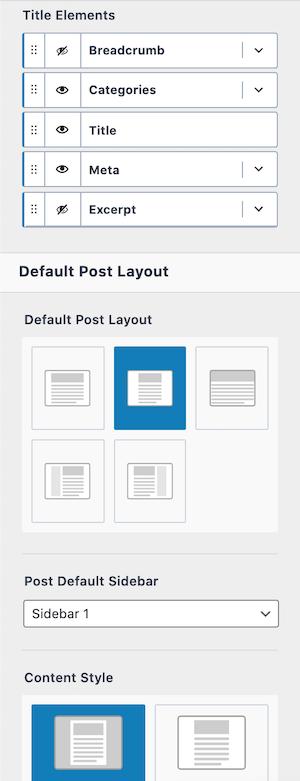 Kadence Theme Pro Single Post Layout Customization Options 2