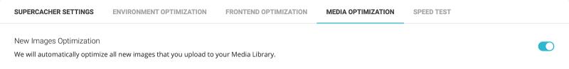 New Images Optimization SG Optimizer Enabled
