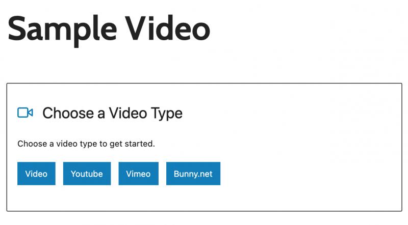 Presto Player Media Hub Add New Video